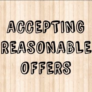 Accepting Reasonable Offers